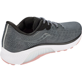 saucony Guide 14 Shoes Women charcoal/rose